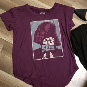 Star Wars Empire Strikes DarthVader Women TShirt